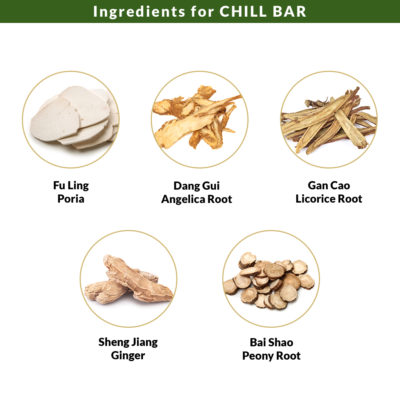 Ingredients for Chill Bar 3