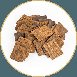 ChiChi Chocolate Eucommia Bark Yang Bar Circle